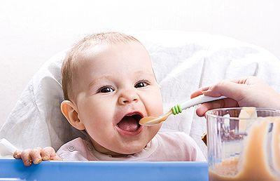 Питание детей до года